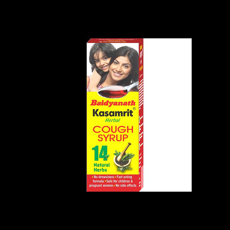 Kasamrit Herbal Cough Syrup - 100 ML